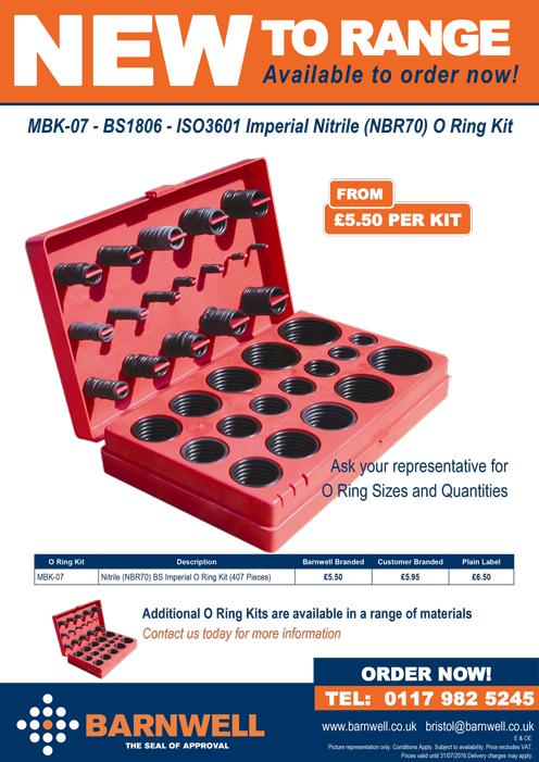 MBK-07 O Ring Kit