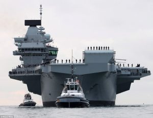 Inflatable Rubber Ring HMS QE